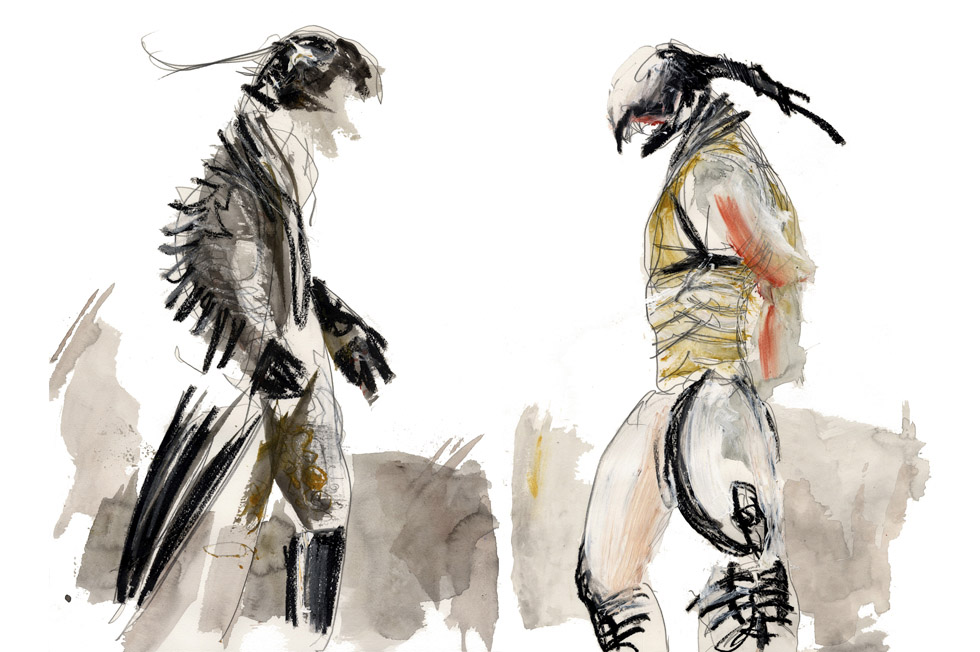 Georg Meyer-Wiel, Costume, Instincts, Image 1