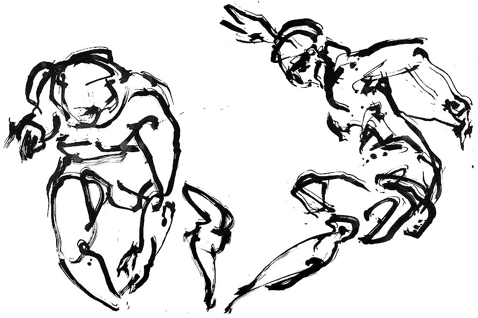 Georg Meyer-Wiel, Drawing, Dance, Image 2