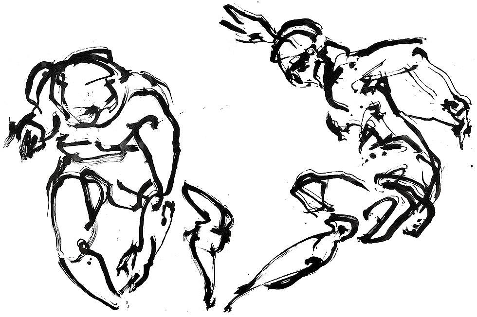 Georg Meyer-Wiel, Drawing, Dance, Image 2