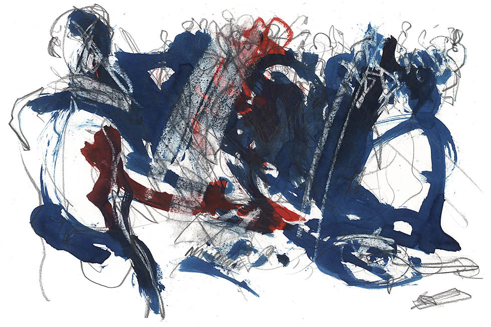Georg Meyer-Wiel, Drawing, Dance, Image 5