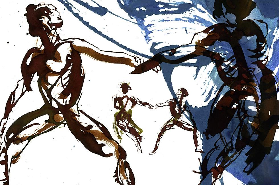 Georg Meyer-Wiel, Drawing, Dance, Image 3