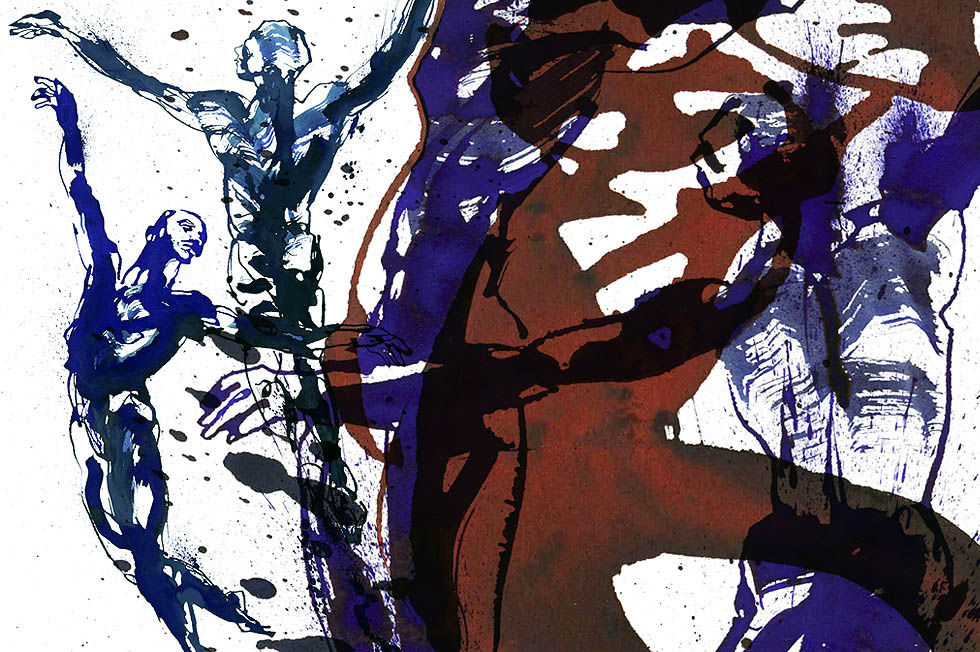 Georg Meyer-Wiel, Drawing, Dance, Image 4