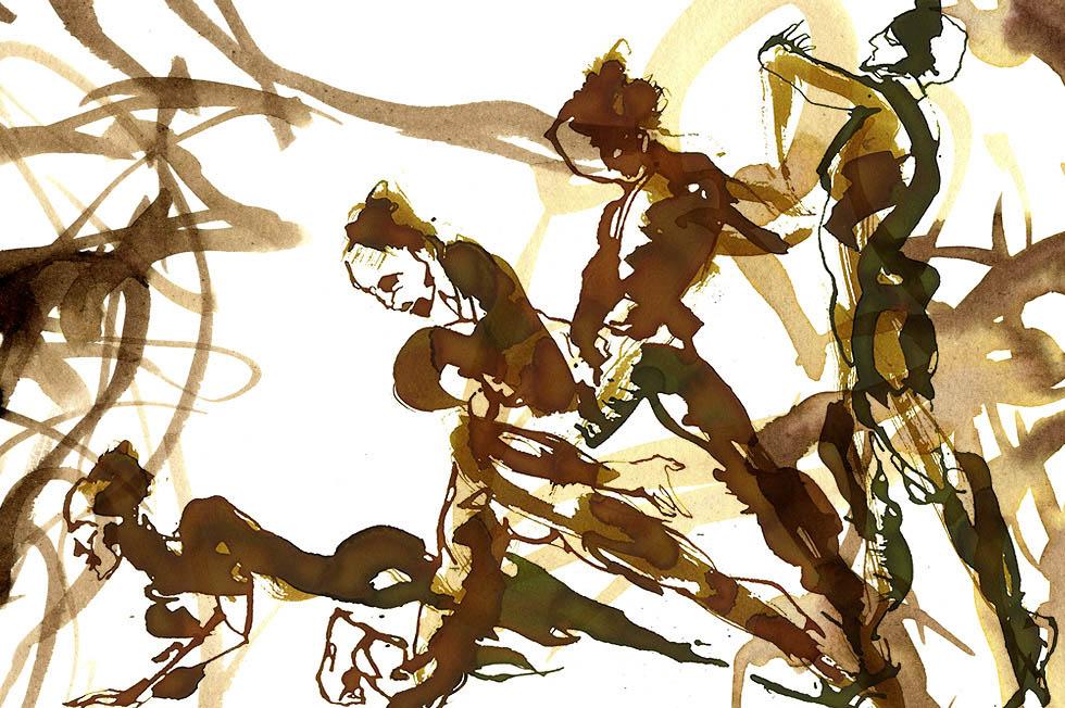Georg Meyer-Wiel, Drawing, Dance, Image 7