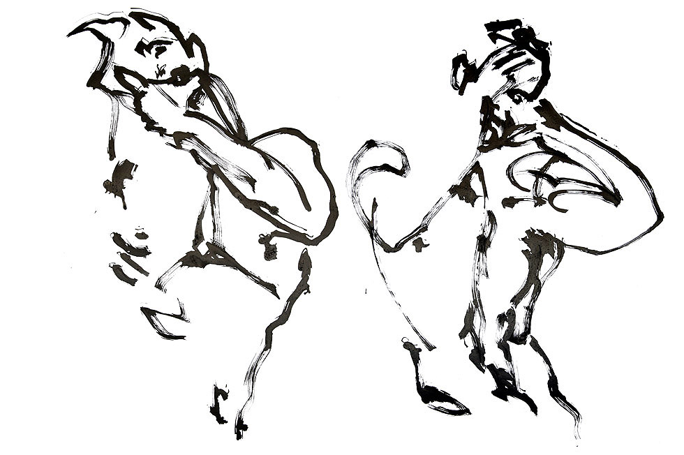 Georg Meyer-Wiel, Drawing, Dance, Image 1