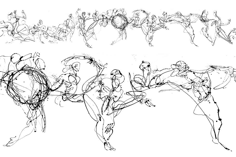 Georg Meyer-Wiel, Drawing, Flow, Image 2