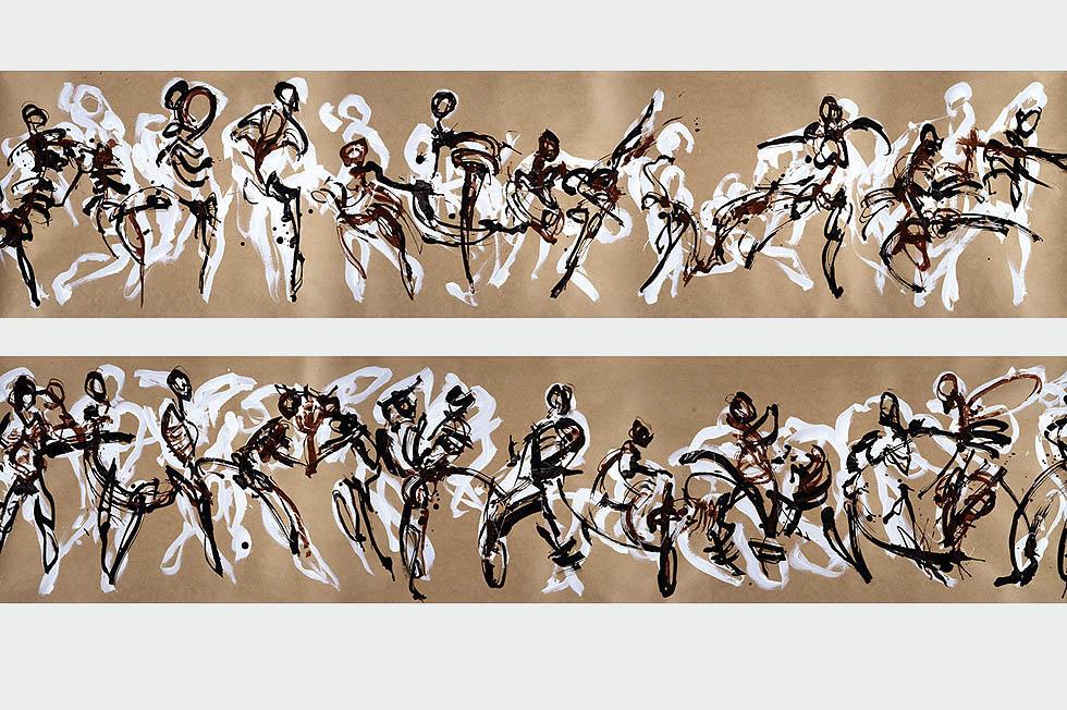 Georg Meyer-Wiel, Drawing, Flow, Image 3