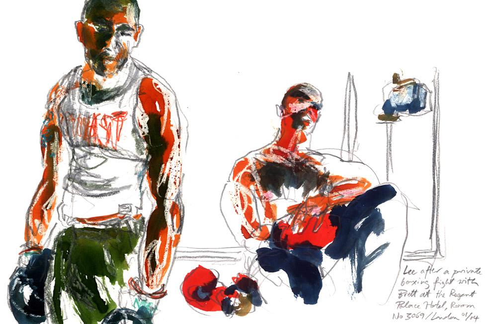 Georg Meyer-Wiel, Drawing, Gloves, Image 6