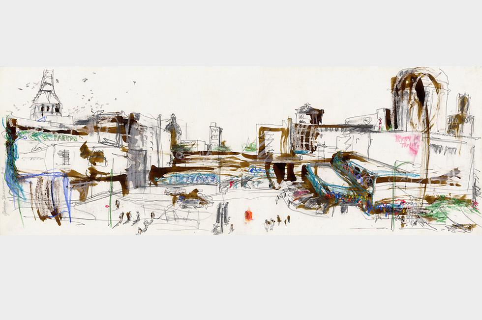 Georg Meyer-Wiel, Drawing, Landscape, Image 3