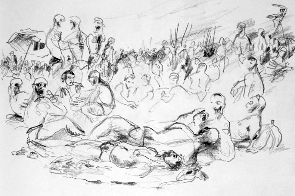 Georg Meyer-Wiel, Drawing, Landscape, Image 6