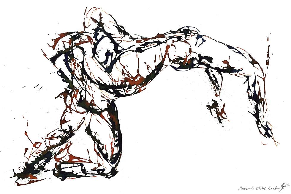 Georg Meyer-Wiel, Drawing, Sweat, Image 3