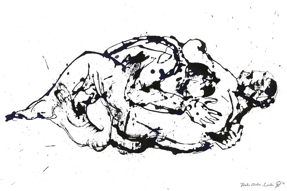 Georg Meyer-Wiel, Drawing, Sweat, Image 1