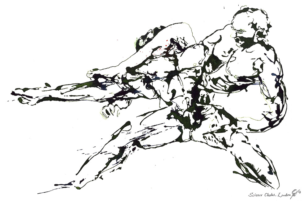Georg Meyer-Wiel, Drawing, Sweat, Image 2