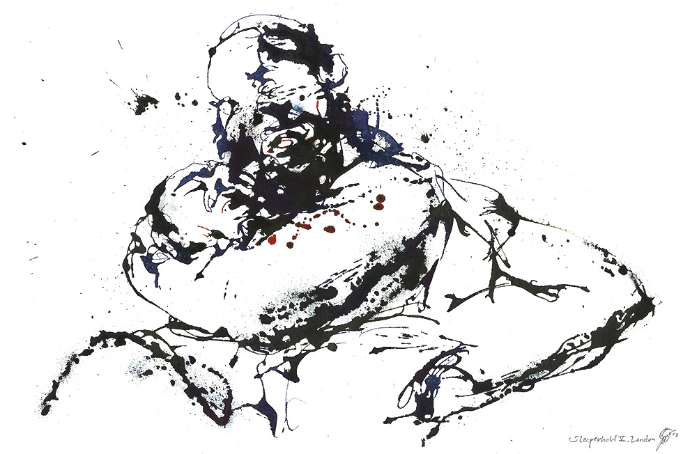 Georg Meyer-Wiel, Drawing, Sweat, Image 6