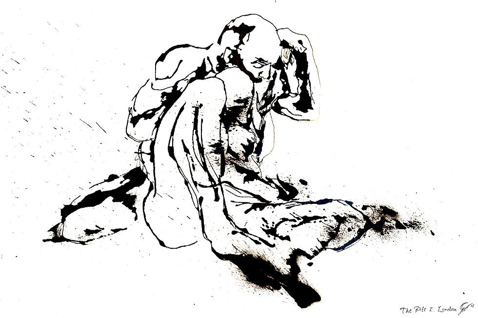 Georg Meyer-Wiel, Drawing, Sweat, Image 8
