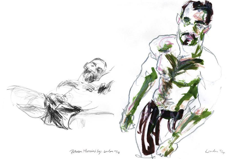 Georg Meyer-Wiel, Drawing, The Life Studies, Image 5