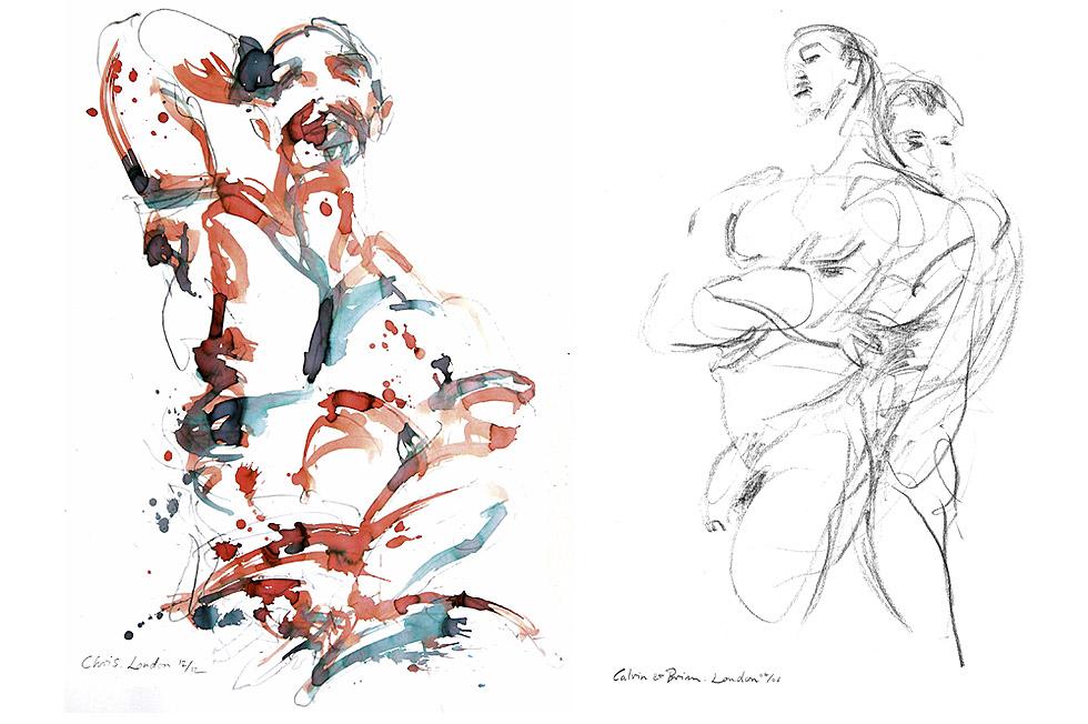 Georg Meyer-Wiel, Drawing, The Life Studies, Image 4