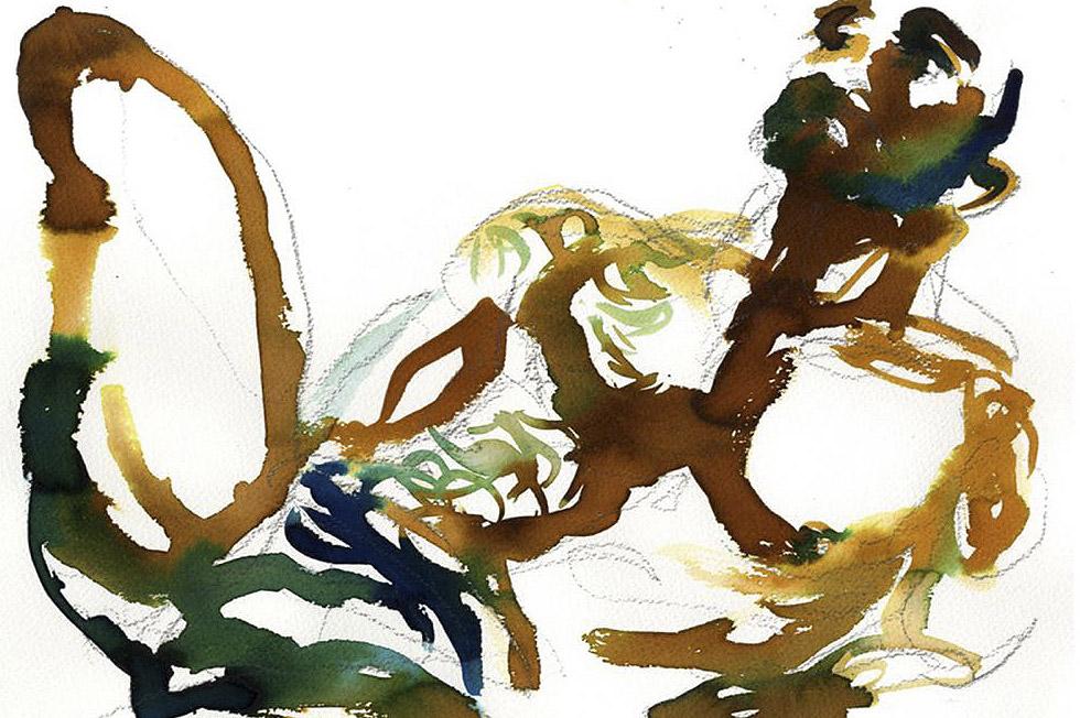Georg Meyer-Wiel, Drawing, The Life Studies, Image 6