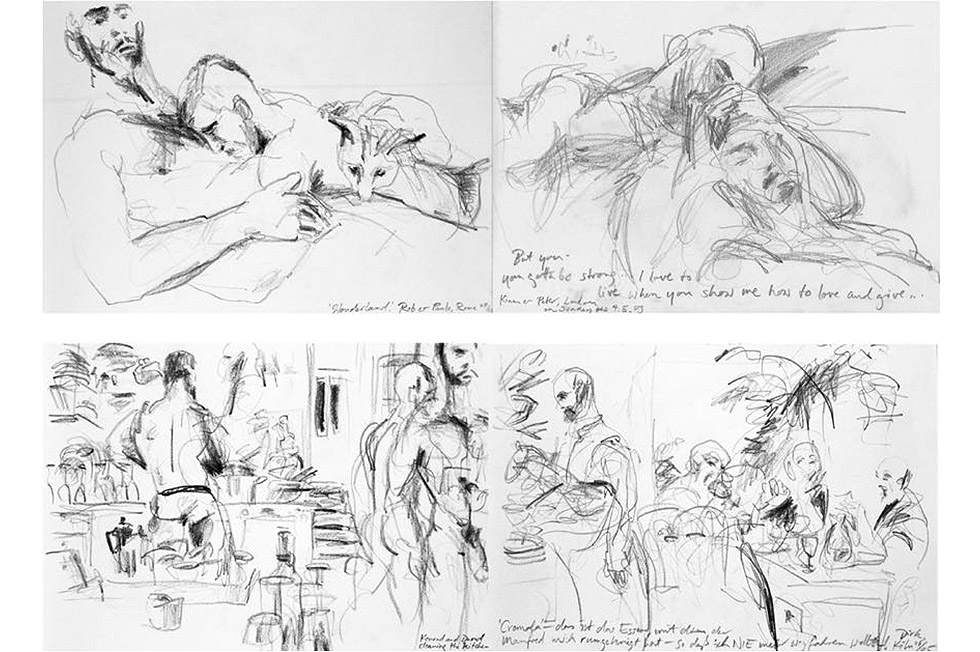Georg Meyer-Wiel, Drawing, The Life Studies, Image 2