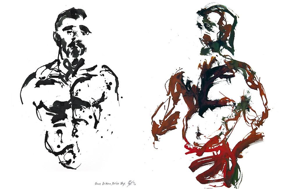 Georg Meyer-Wiel, Drawing, The Life Studies, Image 3