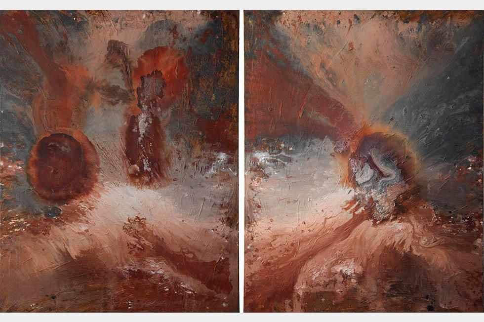 Georg Meyer-Wiel, Painting, Diptychs, Image 1